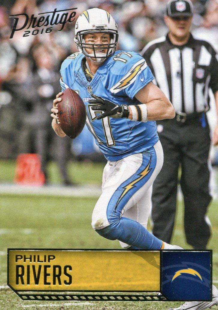 2016 Prestige Football Card #159 Phillip Rivers