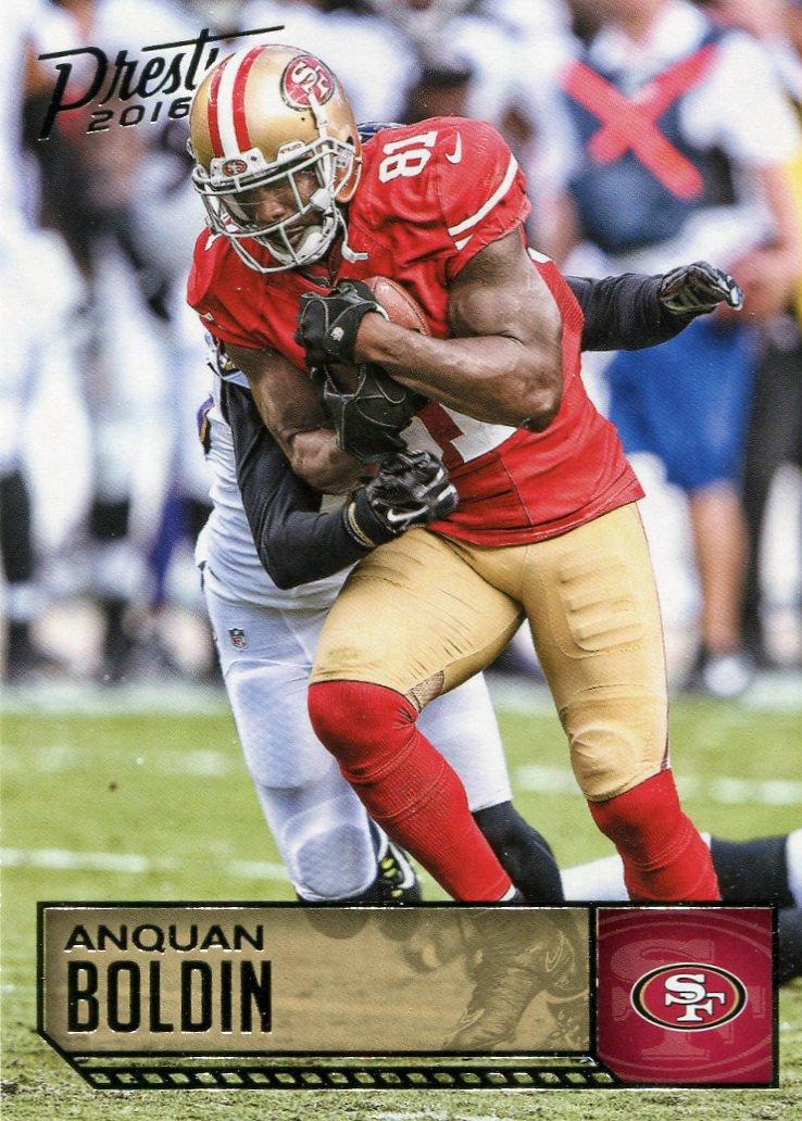 2016 Prestige Football Card #168 Anquan Boldin