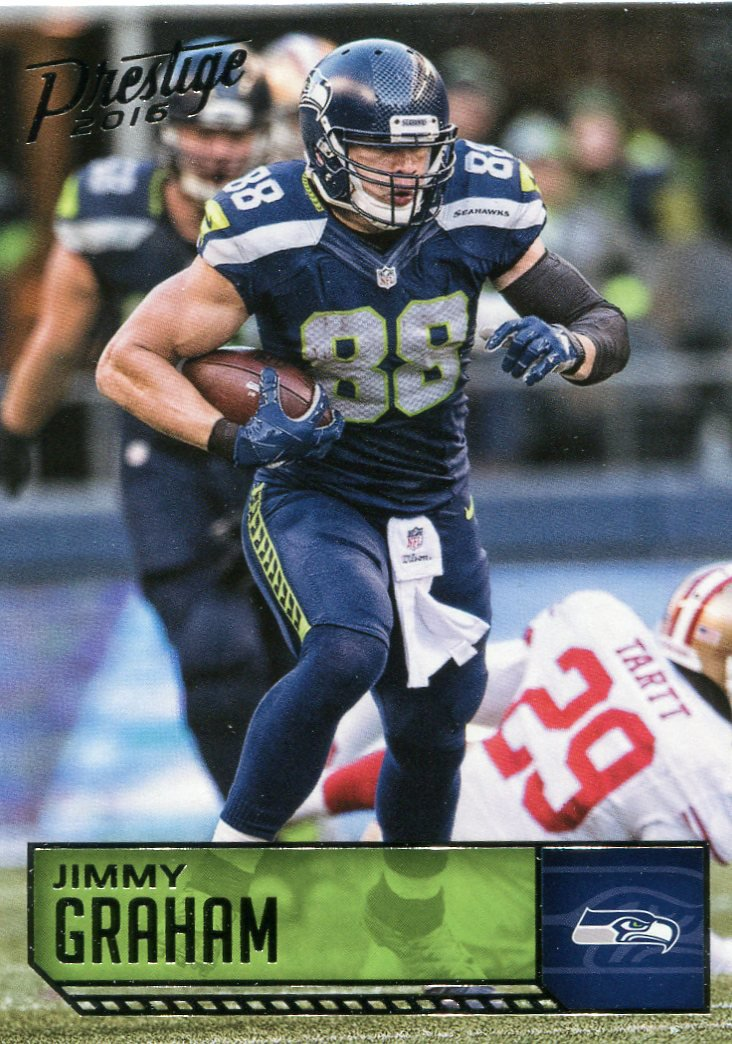 2016 Prestige Football Card #174 Jimmy Graham