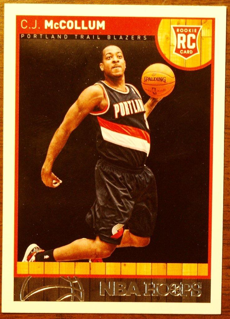 2013 Hoops Basketball Card #270 C J McCollum