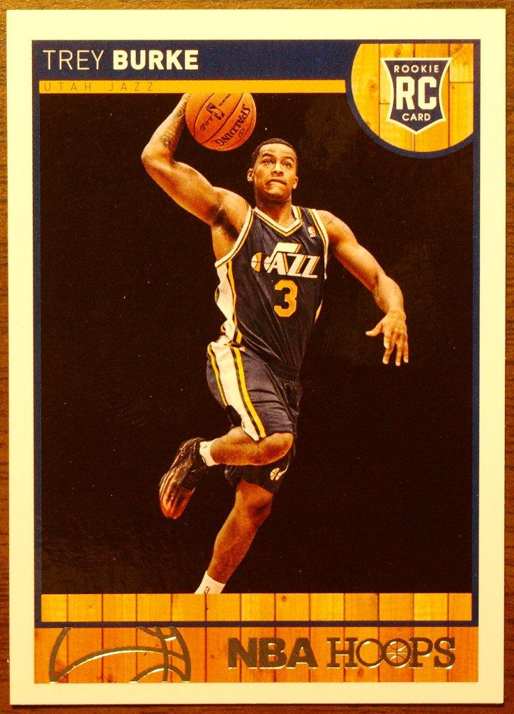 2013 Hoops Basketball Card #269 Trey Burke