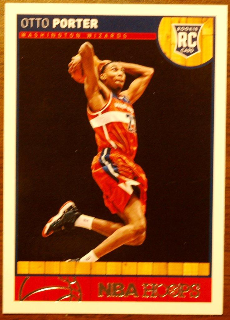 2013 Hoops Basketball Card #263 Otto Porter
