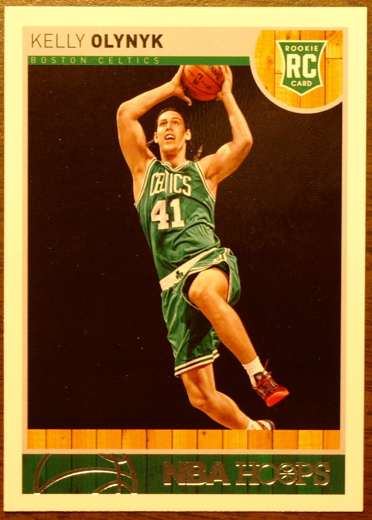2013 Hoops Basketball Card #273 Kelly Olynk
