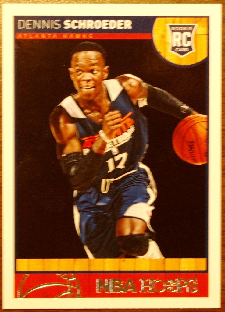 2013 Hoops Basketball Card #277 Dennis Schroeder