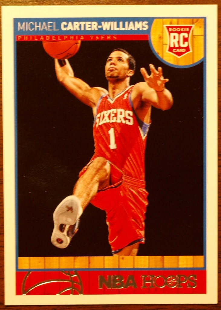 2013 Hoops Basketball Card #271 Michael Carter-Williams