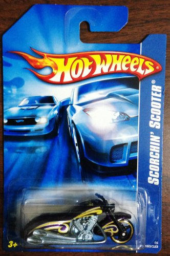 2006 Hot Wheels #183 Scorchin' Scooter