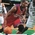 2012 Hoops Basketball Card #253 Lavoy Allen