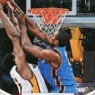 2012 Hoops Basketball Card #297 Serge Ibaka