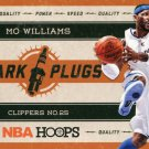 2012 Hoops Basketball Card Spark Plugs #10 Mo Williams