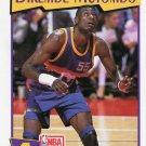 1991 Hoops McDonalds Basketball Card #49 Dikembe Mutombo