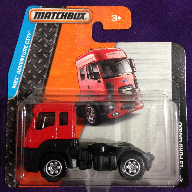 2015 Matchbox Short Card #3 13 Ford Cargo