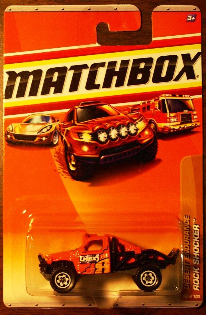 2010 Matchbox #88 Rock Shocker