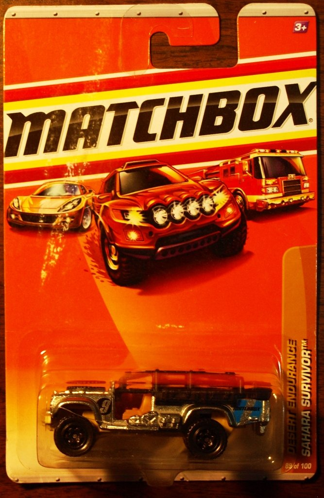 2010 Matchbox #89 Sahara Survivor