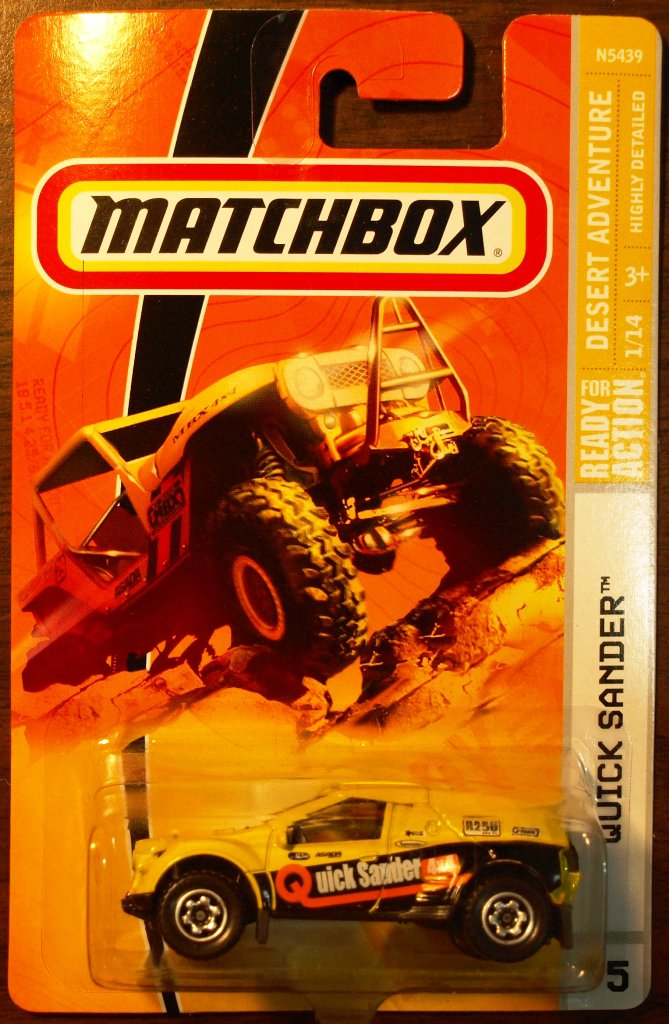 2009 Matchbox #75 Quick Sander