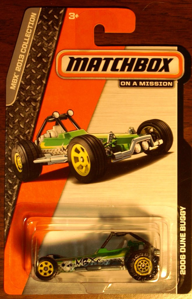 2013 Matchbox #119 2006 Dune Buggy