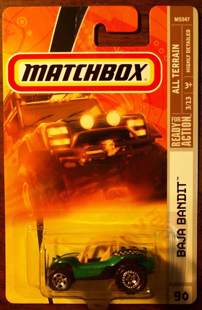 2008 Matchbox #90 Baja Bandit