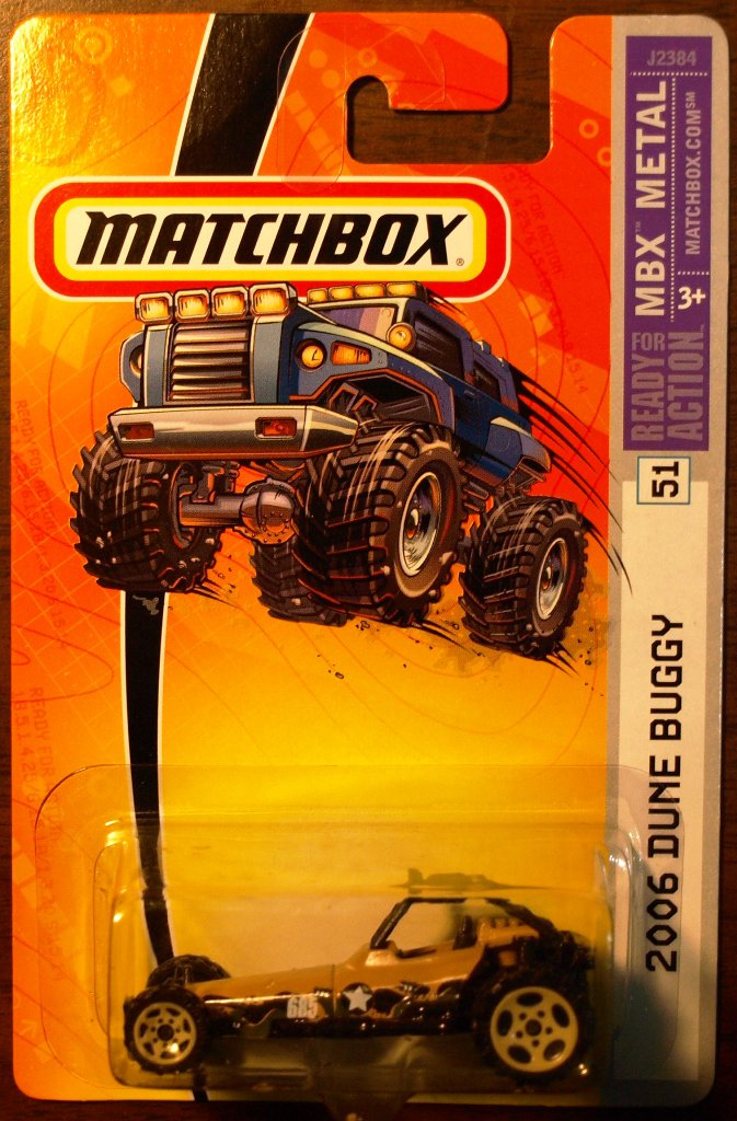2006 Matchbox #51 2006 Dune Buggy
