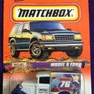 1998 Matchbox #76 Model A Ford