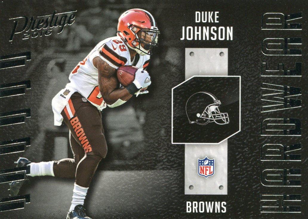 2016 Prestige Football Card Hardware #11 Duke Johnson