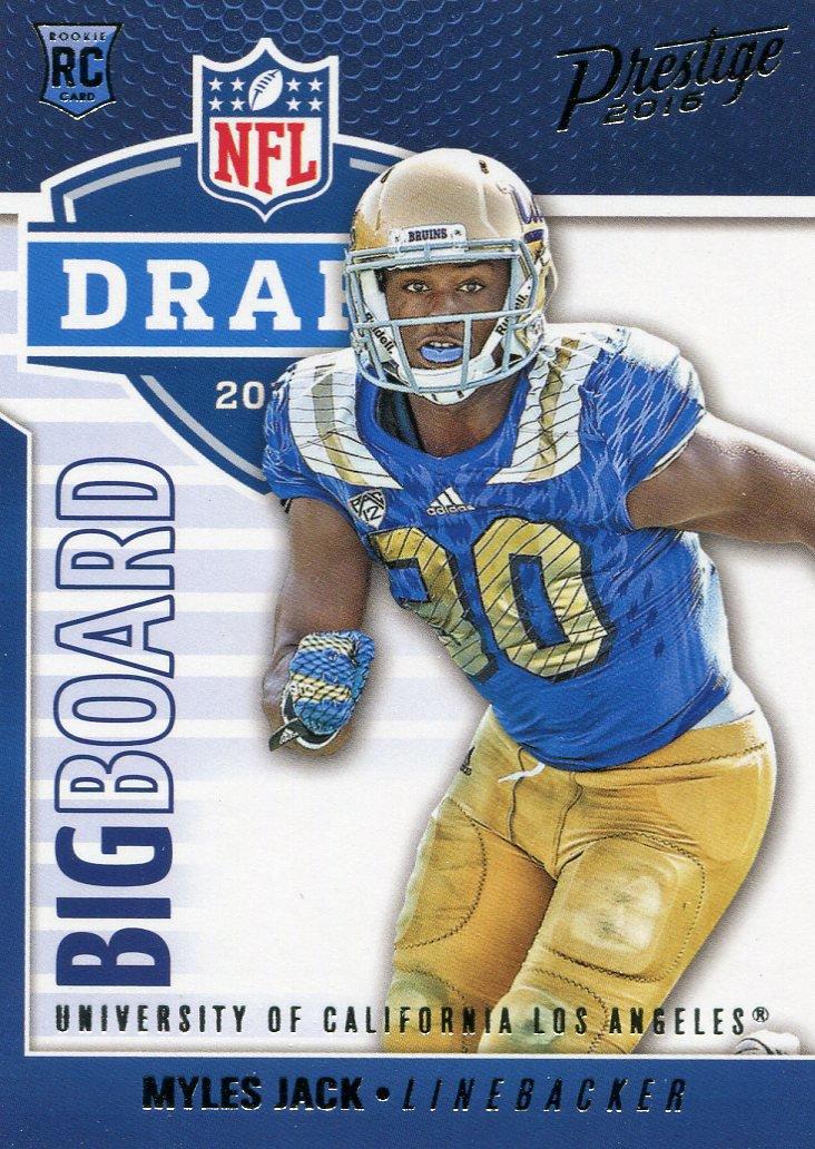 2016 Prestige Football Card Big Draft Board #15 Myles Jack