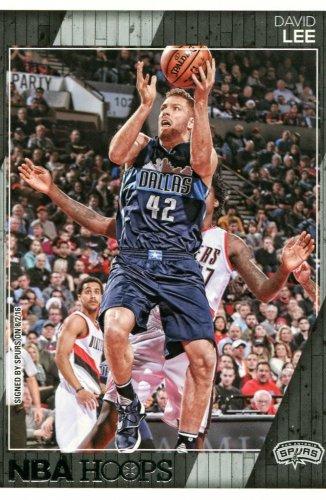2016 Hoops Basketball Card #234 David Lee