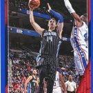 2016 Hoops Basketball Card Blue Parallel #260 Jason Smith