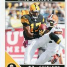 2011 Score Football Card #234 Mike Wallace