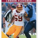 2011 Score Football Card #299 London Fletcher