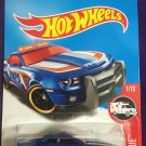 2016 Hot Wheels #211 10 Camaro SS BLUE