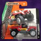 2015 Matchbox Short Card #116 Jeep Huricane