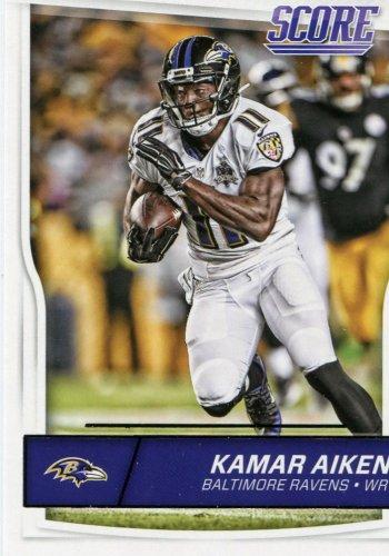 2016 Score Football Card #26 Kamar Aiken