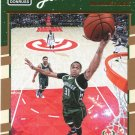 2016 Donruss Basketball Card #9 John Henson