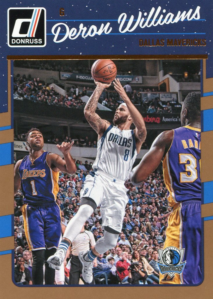 2016 Donruss Basketball Card #78 Deron Williams
