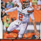 2016 Score Football Card #75 Johnny Manziel