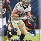 2016 Playoff Football Card #119 Coby Fleener