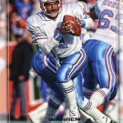 2016 Playoff Football Card #200 Warren Moon