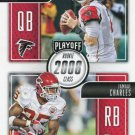 2016 Playoff Football Card Class Reunion #CR-RC Matt Ryan / Jamaal Charles
