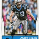 2016 Score Football Card #52 Jared Allen