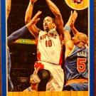 2013 Hoops Basketball Card Blue Parallel #10 DeMar Derozan