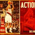 2013 Hoops Basketball Card Action Shots #19 Damion Lillard