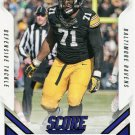 2015 Score Football Card #353 Carl Davis