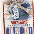2015 Score Football Card All Pro #7 Tony Romo