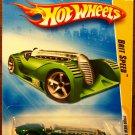 2009 Hot Wheels #4 Brit Speed GREEN
