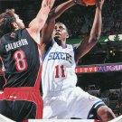 2012 Hoops Basketball Card #24 Jrue Holiday