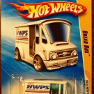 2010 Hot Wheels #13 Bread Box WHITE