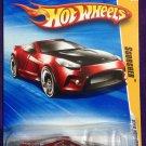 2010 Hot Wheels #5 Scorcher RED
