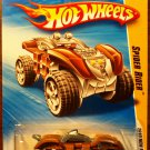 2010 Hot Wheels #12 Spider Rider BROWN