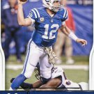 2016 Score Football Card #137 Andrew Luck