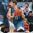 2012 Hoops Basketball Card #117 Luke Ridnour