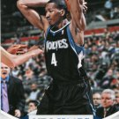 2012 Hoops Basketball Card #121 Wesley Johnson